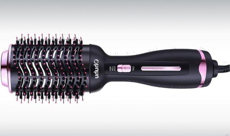 This styling brush is the secret to a bouncy blowdry, and it's on sale for less than £15