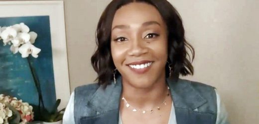 Tiffany Haddish Tears Up Talking About Her 'Blessings' (Exclusive)