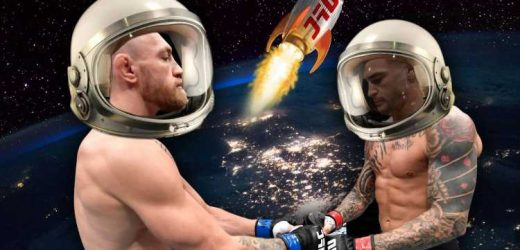UFC fighters could be sent into SPACE for 'Zero-G' fights as part of new Galactic Combat with help of Elon Musk's SpaceX