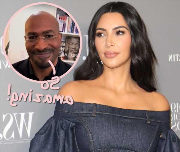 Van Jones Gushes About Rumored Girlfriend Kim Kardashian's 'Amazing' Lawyer Skills!