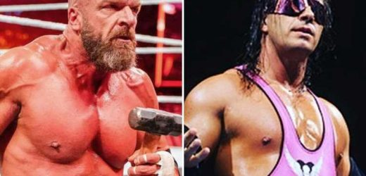 WWE legend Bret Hart slams 'overrated' Triple H and claims he is only remembered because of Vince McMahon