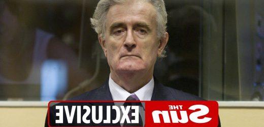 War criminal Radovan Karadzic locked up with rapists and paedophiles in Britain