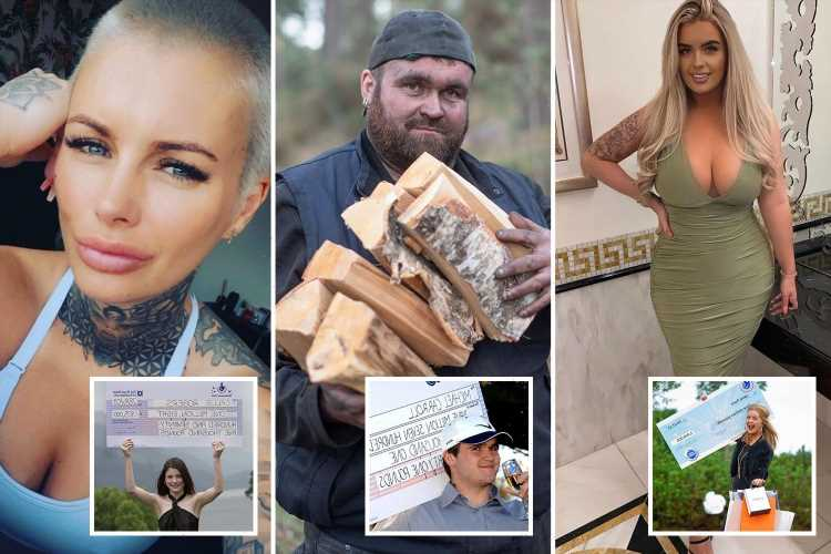 What young National Lottery and Euromillions winners did next – from OnlyFans star and botched bum lift to skint coalman