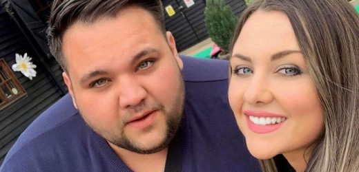 Woman who 'likes men chunky' hits out at trolls saying her fiancé is 'punching'