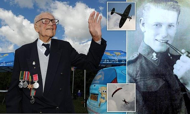 World War Two veteran, 101, honoured by Spitfire