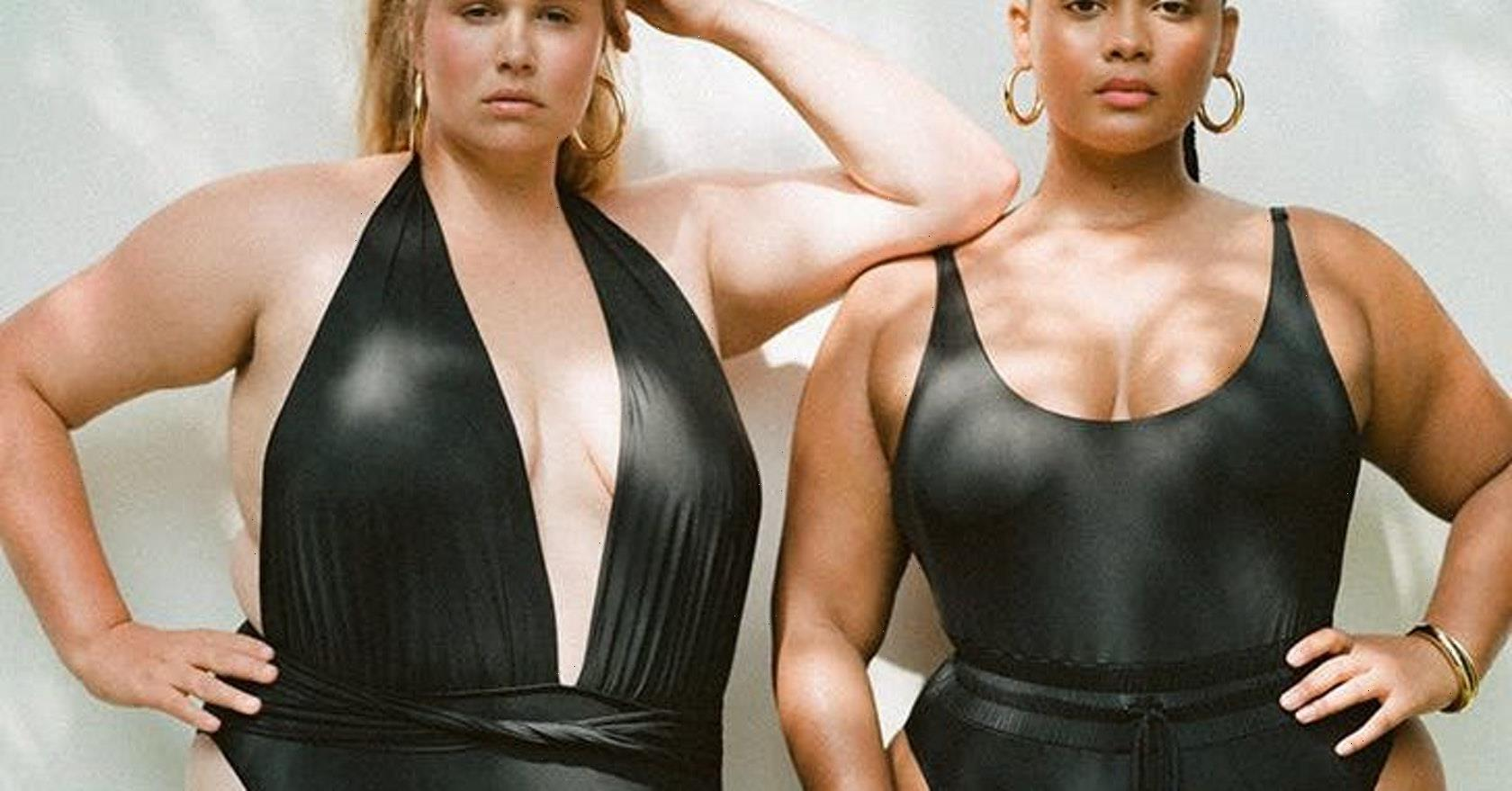 11 black one-piece swimmers that can easily double as a bodysuit