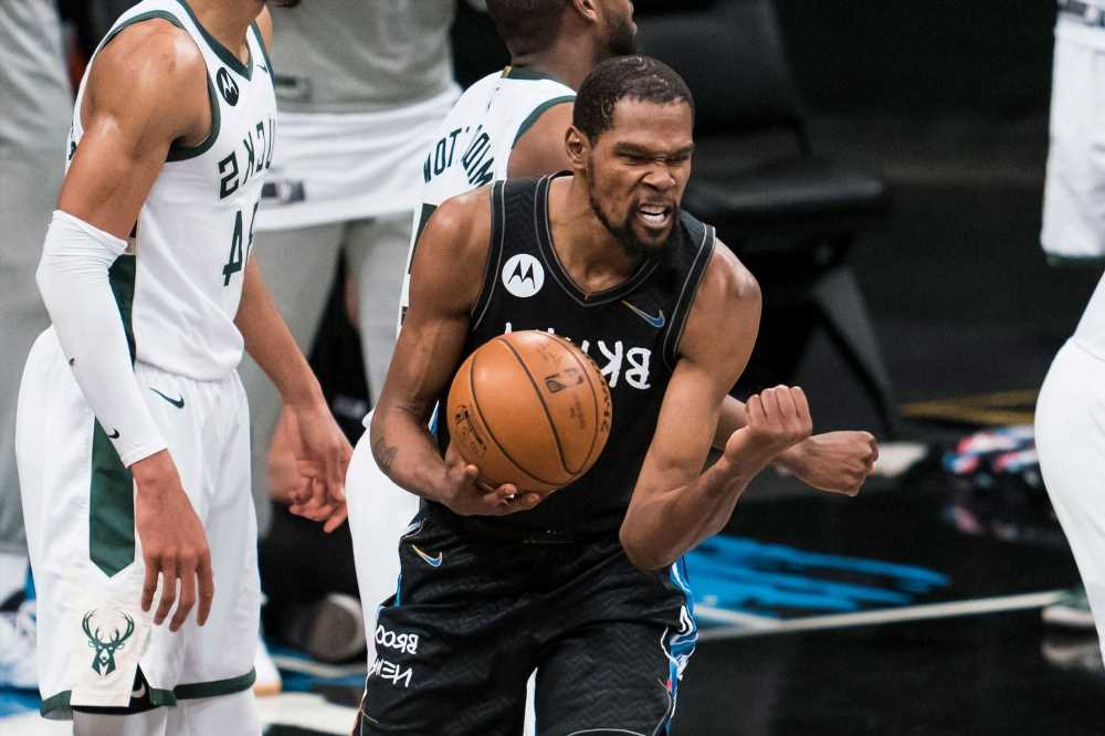 A vegan burger set stage for Kevin Durant's Nets heroics