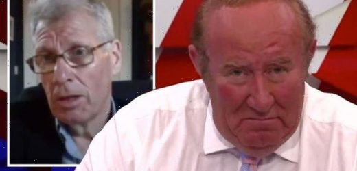 Andrew Neil clashes with GB News guest over Scottish expat Indyref vote 'Ran the empire'