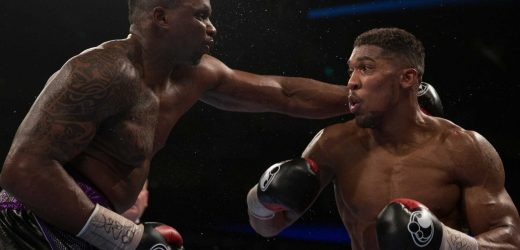 Anthony Joshua could end up rematching Dillian Whyte if Oleksandr Usyk deal can't be reached, Eddie Hearn suggests