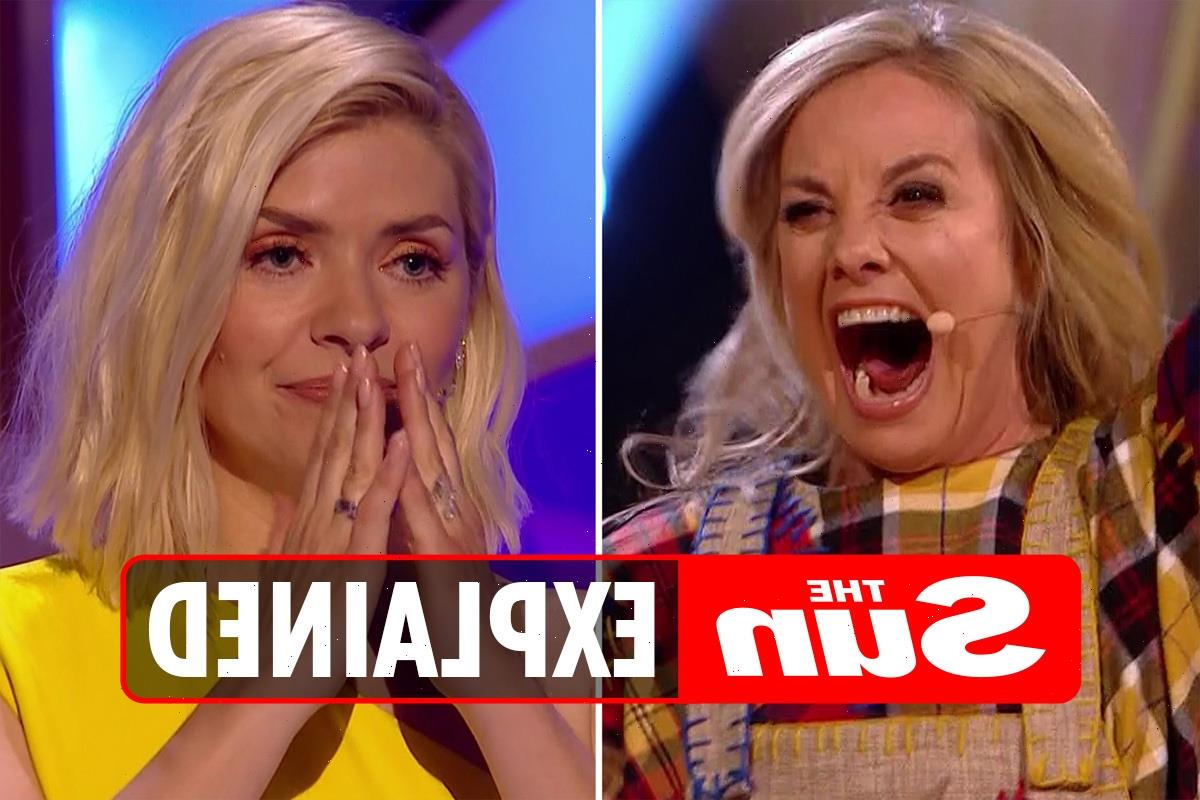 Are Holly Willoughby and Tamzin Outhwaite related?