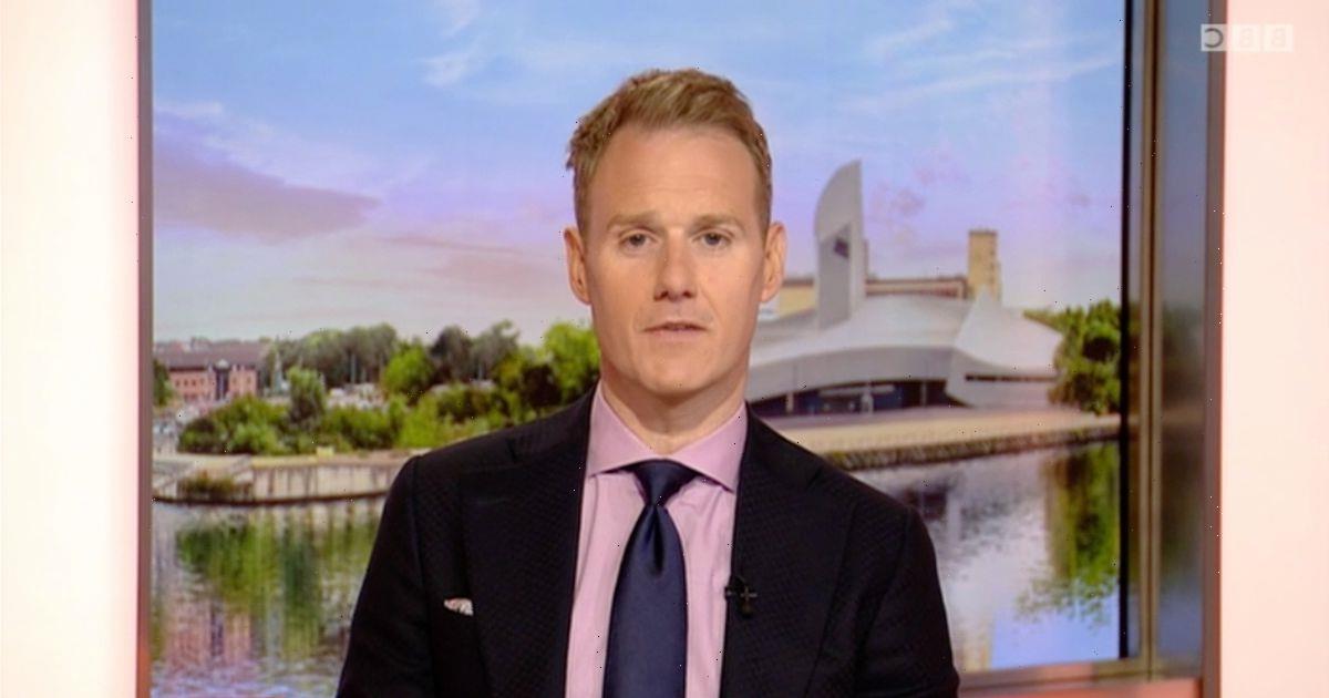 BBC Breakfast viewers distracted by Dan Walker's 'Hello Kitty' sock choice