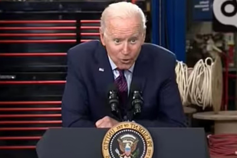 Biden deploys creepy whisper AGAIN to tout cash handouts to families in $973billion infrastructure plan