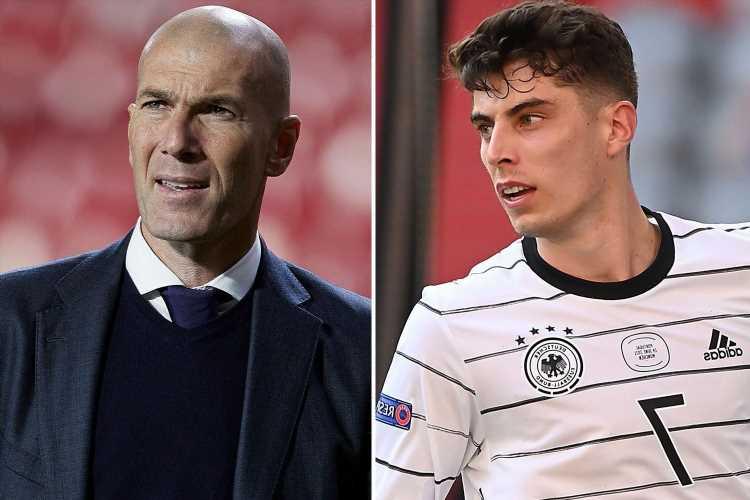 Chelsea ace Kai Havertz compared to Zinedine Zidane after impressive Euro 2020 so far by Germany icon Lothar Matthaus
