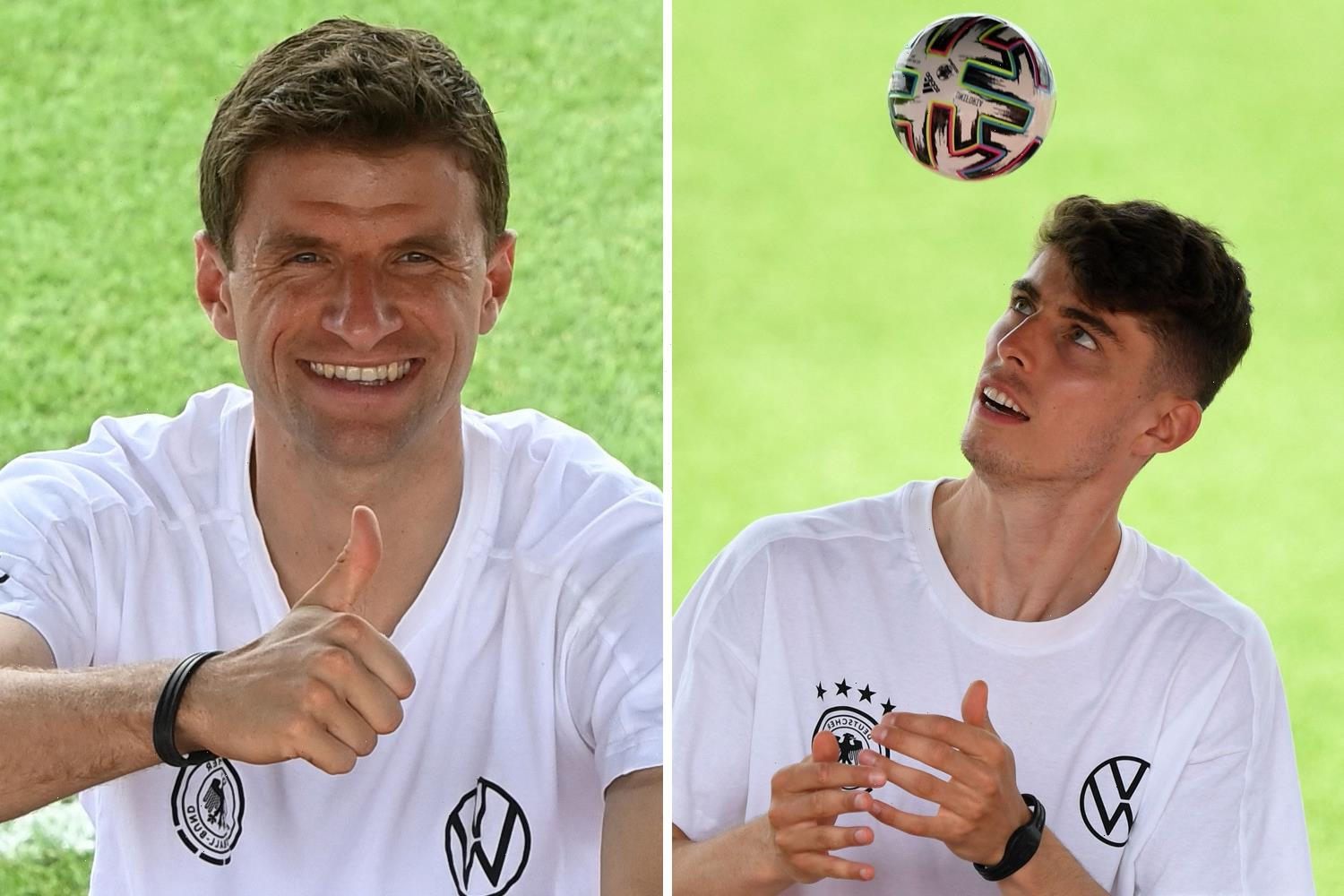Chelsea star Kai Havertz labels Thomas Muller as Germany's 'third assistant coach' and praises his professionalism