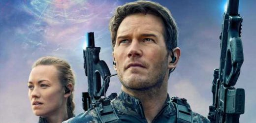 Chris Pratt Deems Yvonne Strahovski 'Super Tough' for Nailing 'The Tomorrow War' Stunt