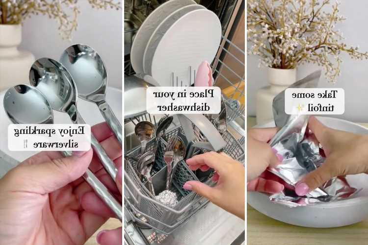 Cleaning fan reveals handy hack to get your cutlery sparkling every time & all you need is tin foil