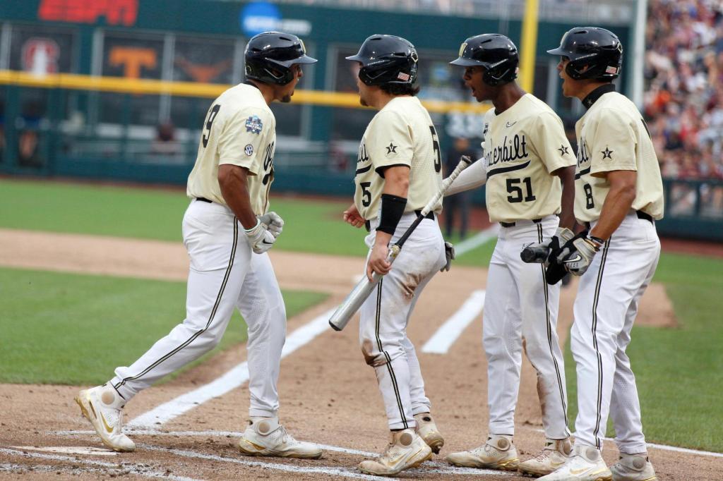 College World Series: Big 1st inning sends Vanderbilt past Mississippi State 2 in finals opener – The Denver Post