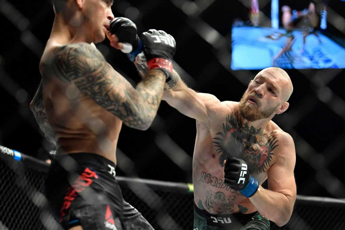 Conor McGregor vows 'in 25 days I finish the job' and predicts KO of Dustin Poirier in UFC 264 trilogy fight