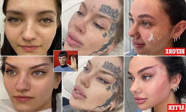 Cosmetic surgery clinic slammed for turning  women into Spock