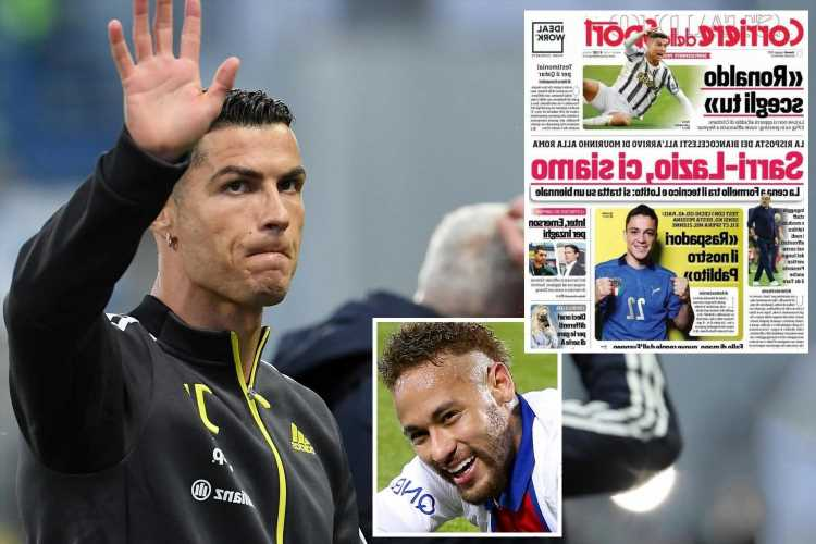 Cristiano Ronaldo given green light for PSG transfer as Juventus 'will not oppose his farewell'