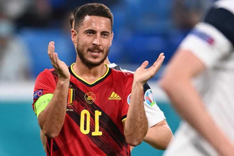 Eden Hazard plays first full 90 minutes since November 2019 in Belgium's 2-0 Euro 2020 win against Finland