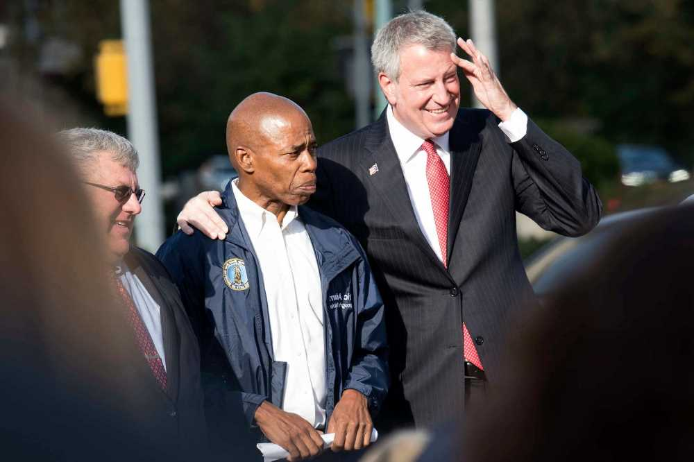 Eric Adams pushes de Blasio for July start to transition with Dem, GOP candidates