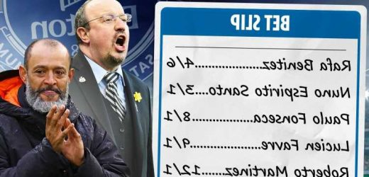 Everton next manager: Rafa Benitez ODDS-ON favourite for Toffees job after talks, Fonseca, Favre & Galtier in the mix