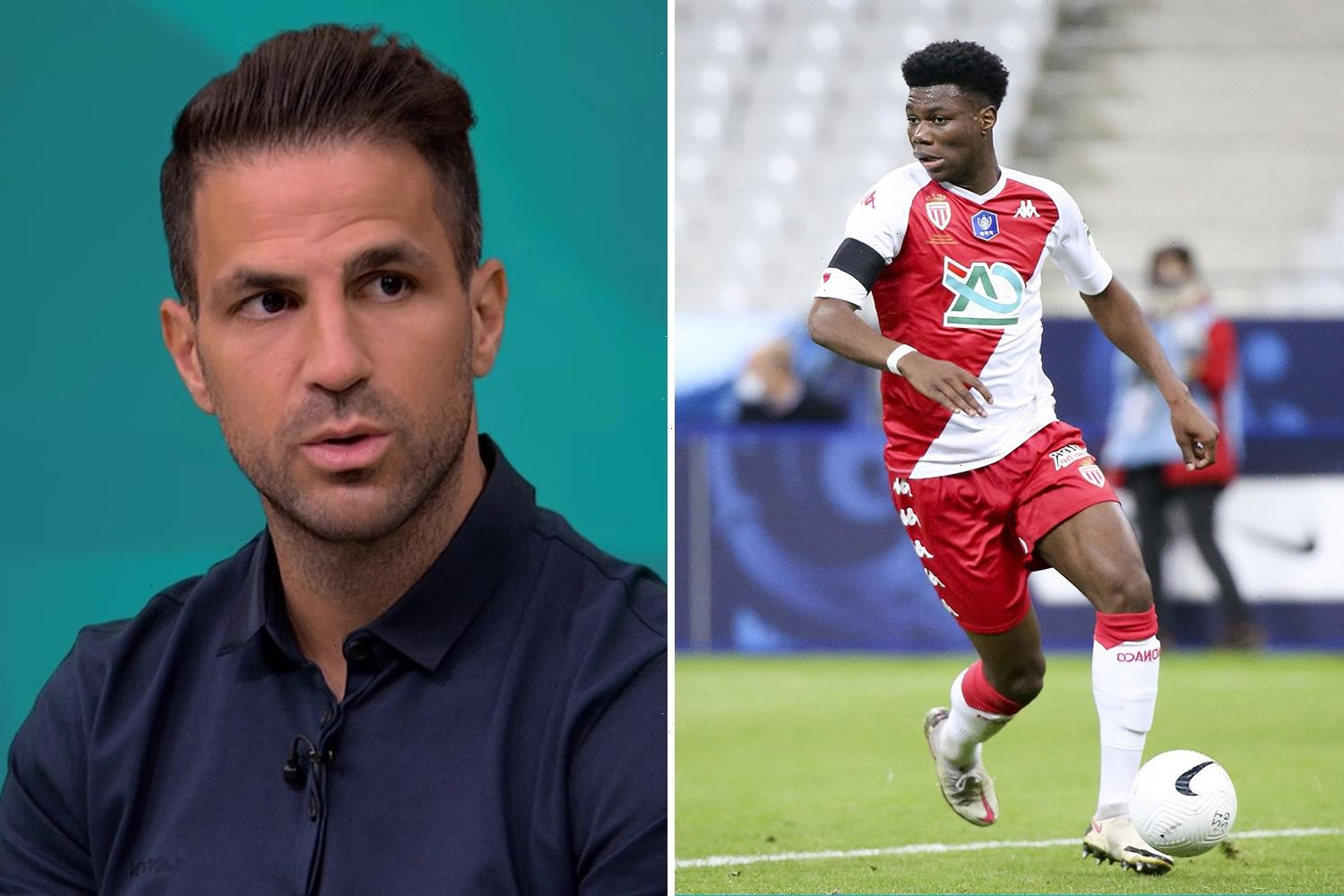 Fabregas issues hands-off warning to Chelsea over Monaco star Aurelien Tchouameni amid transfer interest from ex-club
