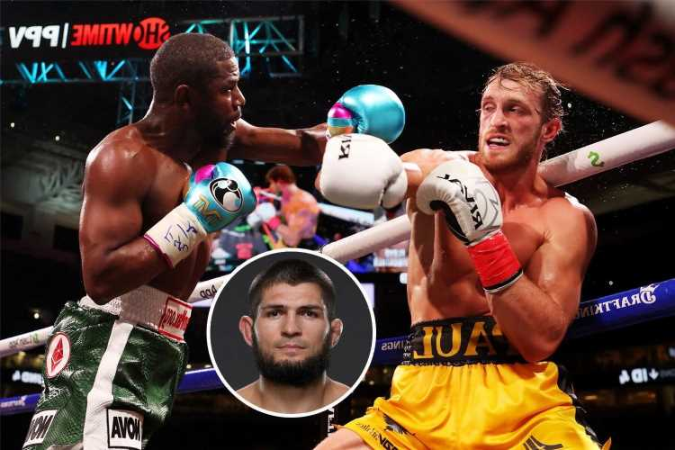 Floyd Mayweather vs Logan Paul slammed by UFC legend Khabib, who says pair 'sparred and made money'