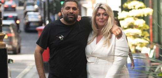 Gemma Collins shows off three stone weight loss as she steps out with mystery man