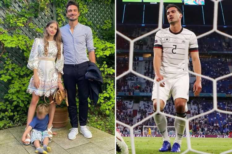 Germany star Mats Hummels reveals son, 3, celebrated his OWN-GOAL against France at Euro 2020