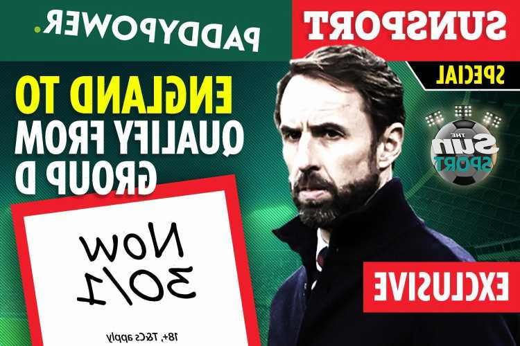 Get England at 30/1 to qualify from Group D with Paddy Power special