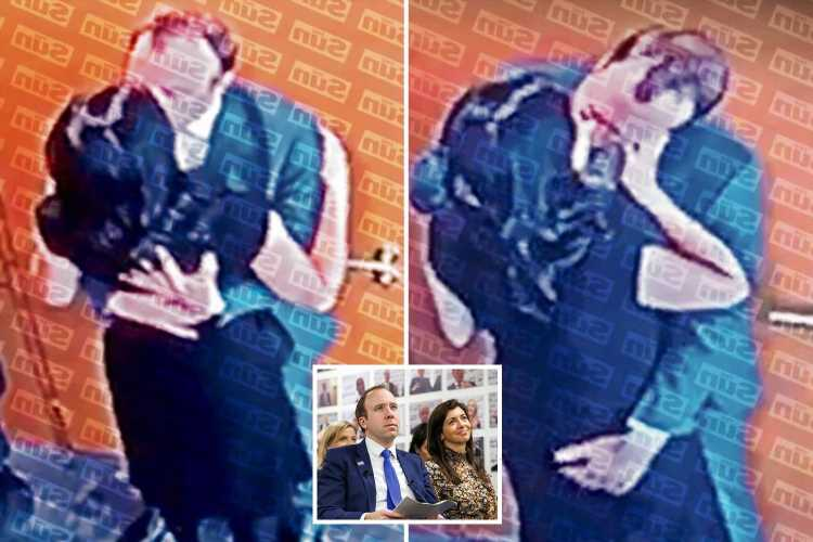 Gina Coladangelo's neighbours tell of shock after 'gorgeous' aide is pictured kissing Health Secretary Matt Hancock
