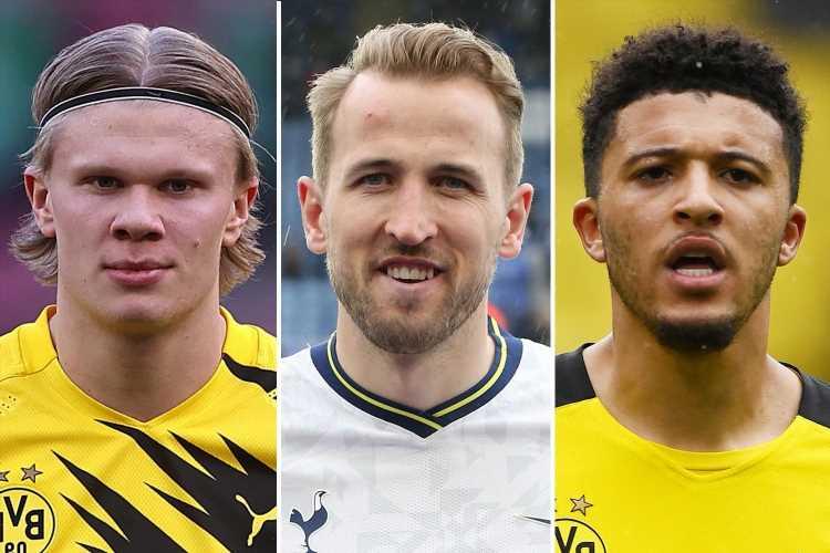 Harry Kane to Man City, Jadon Sancho to Man Utd… five biggest summer transfers as window opens today