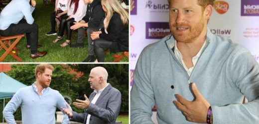 Harry 'has adopted dramatic American-style body language', expert says