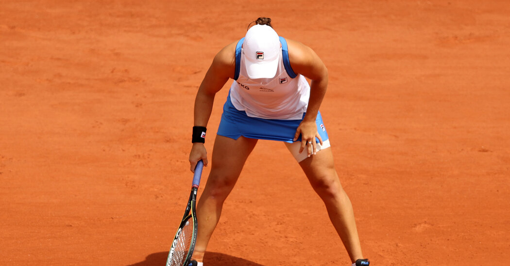 Hip Injury Forces Ashleigh Barty Out of French Open