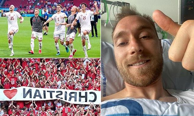 Hjulmand admits 'love' shown to Eriksen has given Denmark 'WINGS'