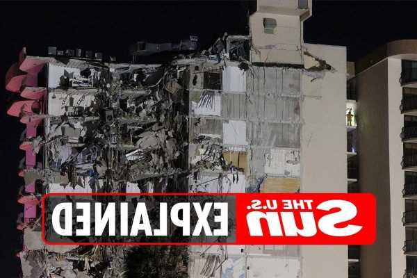 How many people died in the Miami building collapse?