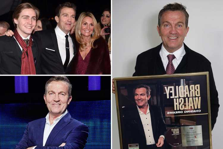 Inside The Chase host Bradley Walsh's incredible life with famous wife, hunky son and hit music career