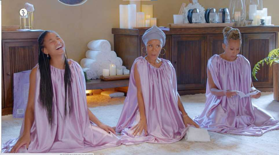 Jada Pinkett Smith, her mom and daughter steamed their yonis on Red Table Talk