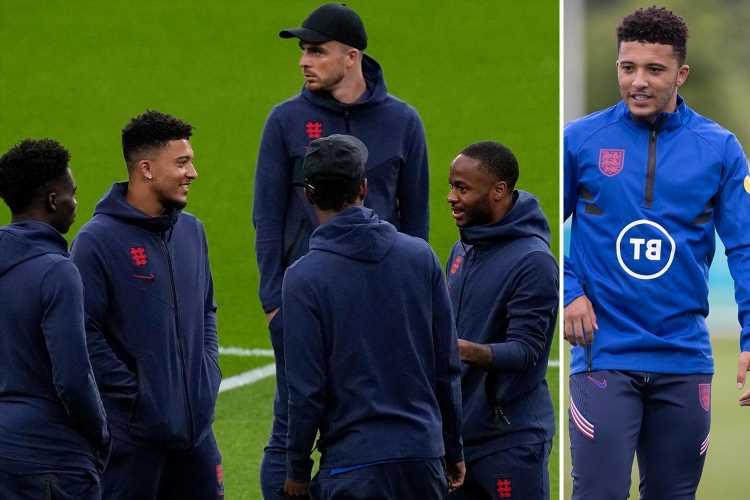 Jadon Sancho 'has told England team-mates he's joining Man Utd' as £80m transfer from Borussia Dortmund edges closer