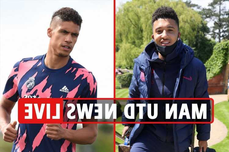 Jadon Sancho terms 'mostly agreed', Man Utd 'lead Varane transfer race', Saul Niguez 'can join for £40m'