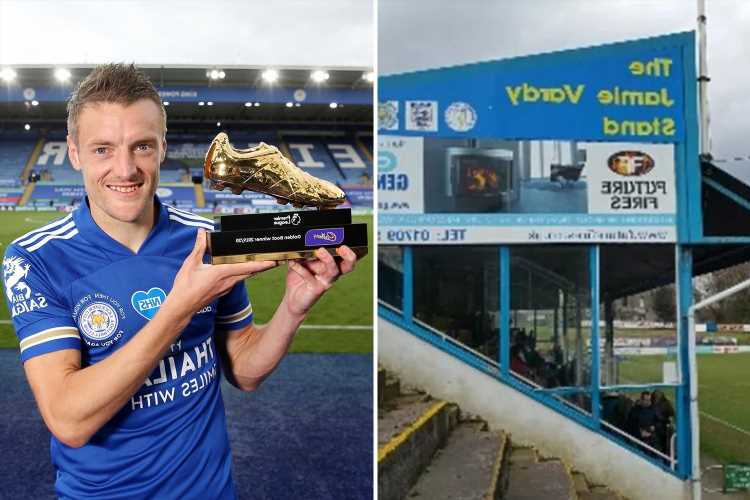 Jamie Vardy set to have name erased by hard-up non-league club Stocksbridge Park Steels, where he launched his career