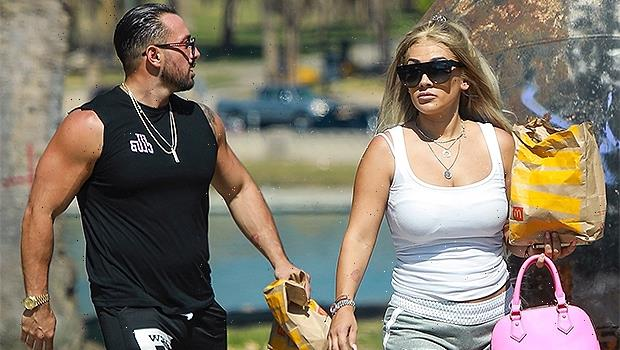 Jenn Harley & BF Joseph Ambrosole Go For A McDonald's Run A Week After Her Domestic Violence Arrest