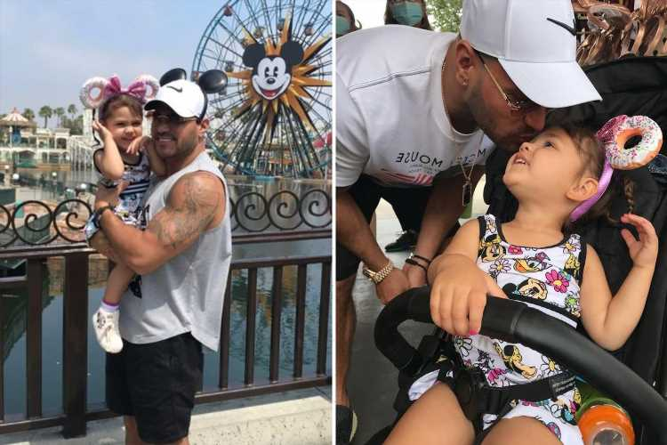 Jersey Shore star Ronnie Ortiz-Magro spends Father's Day with daughter Ariana after ex Jen Harley was arrested in Vegas