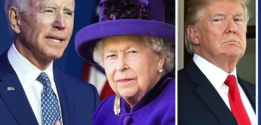 Joe Biden vs Trump: Queen Elizabeth II body language when meeting US presidents compared