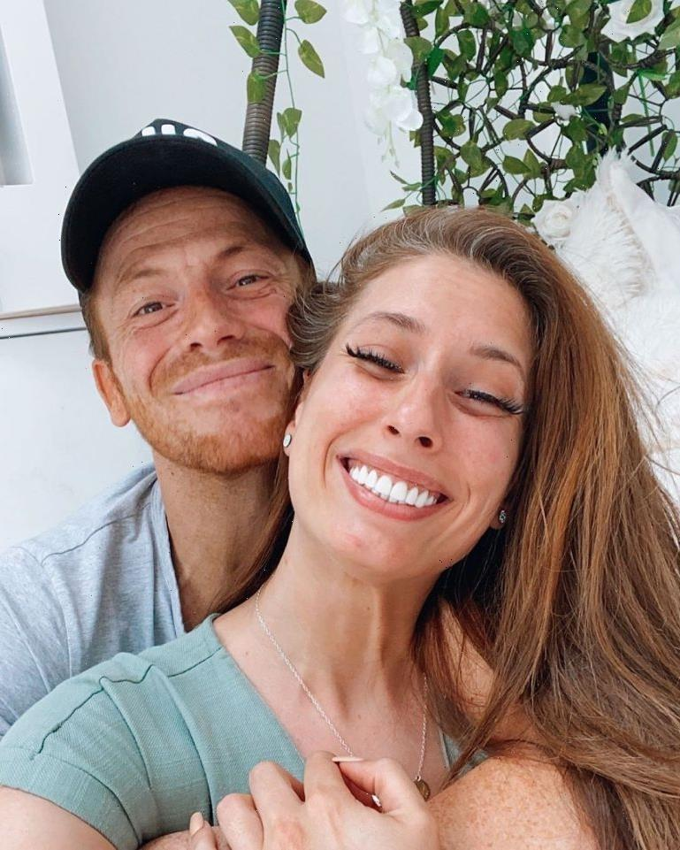 Joe Swash's sweet tribute to pregnant Stacey Solomon as he prepares to become a dad to their second child