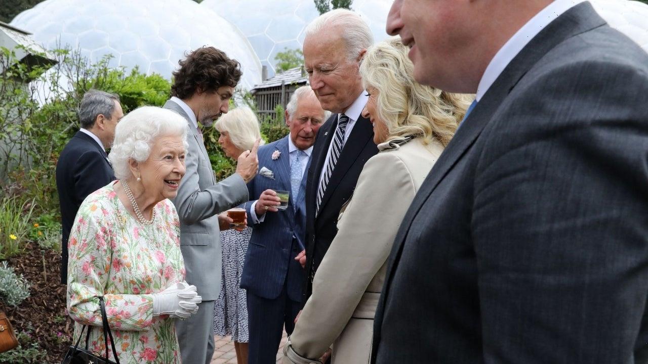 Joe and Jill Biden Meet With Queen Elizabeth and Royal Family