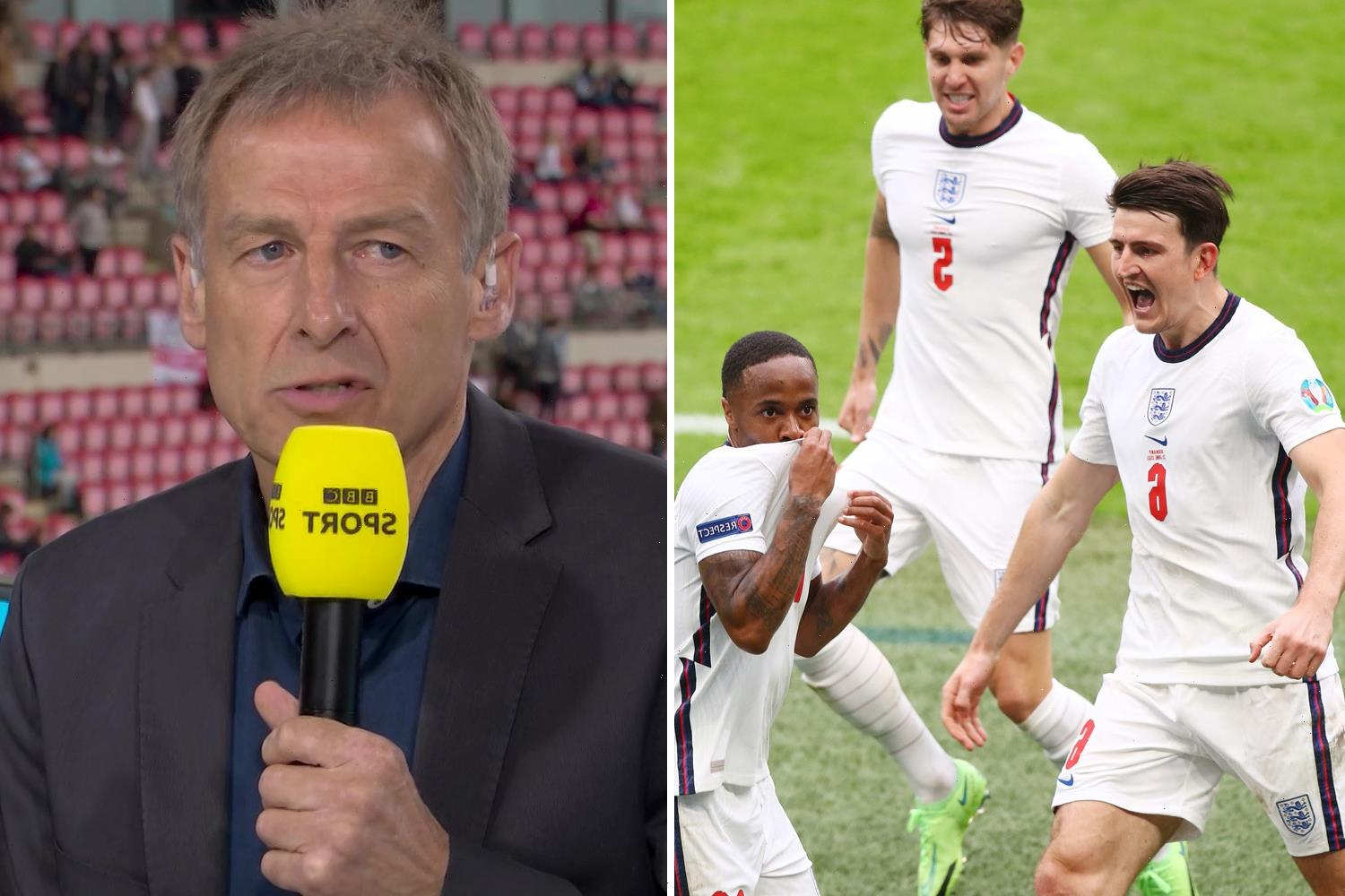 Jurgen Klinsmann congratulates England and admits Three Lions deserved to beat Germany in classy message