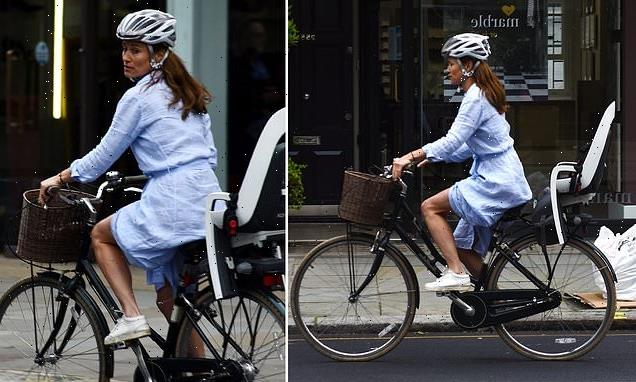 Kate Middleton's sister is spotted having a spin around Chelsea